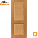 Internal Oak CHARNWOOD Pre-Finished 2 Panel Fire Door FD30