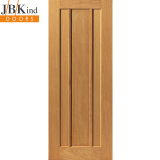 Internal Oak EDEN Contemporary 3 Panel Door