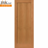 Internal Oak ETNA Shaker Style 1 Panel Door