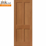 Internal Oak RUSHMORE Shaker Style 4 Panel Door