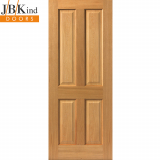 Internal Oak SHERWOOD Pre-Finished 4 Panel Door