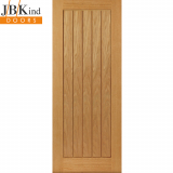 Internal Oak THAMES ORIGINAL Vertical Panel Flush Door