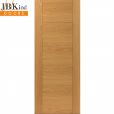 Internal Oak TIGRIS Pre-Finished Grooved Flush Door