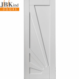 Internal White Primed AURORA Retro Sunshine Design Panel Door