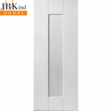 Internal White Primed AXIS 1 Panel Shaker Style Door