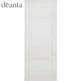 Deanta Internal White Primed Coventry Panelled Door