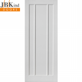 Internal White Primed JAMAICA Contemporary 3 Panel Door