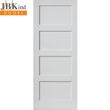 Internal White Primed MONTSERRAT 4 Panel Door