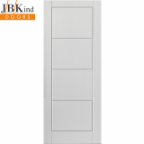 Internal White Primed QUATTRO Moulded Smooth Door