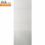 Internal White Primed RIPPLE Moulded Textured Door
