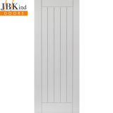 Internal White Primed SAVOY Grooved Vertical Panel Door