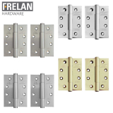 Frelan Hardware Pair of Grade 12 Fire Rated Concealed Bearing Door Hinges
