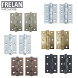 Frelan Hardware Pair of Grade 7 Fire Rated Ball Bearing Door Hinges