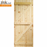 JB Kind External Softwood Pine Boarded Ledged & Braced Shed Door