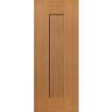 JB Kind Internal Oak AXIS Pre-Finished Shaker 1 Panel Fire Door FD30