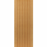 JB Kind Internal Oak CHERWELL Pre-Finished Boarded Panel Fire Door FD30