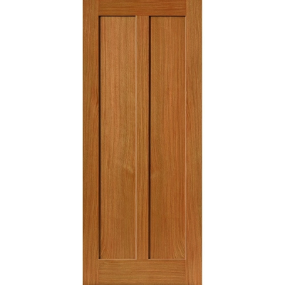 JB Kind Internal Oak EIGER Shaker Style 2 Panel Fire Door FD30