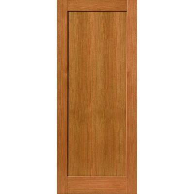 JB Kind Internal Oak ETNA Shaker Style 1 Panel Fire Door FD30