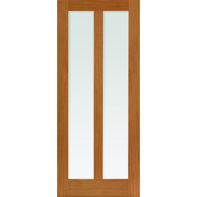 JB Kind Internal Oak MATTERHORN 2 Light Clear Glazed Door