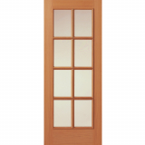 JB Kind Internal Oak Royale 11-8V Glazed Panelled Door