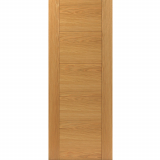 JB Kind Internal Oak TIGRIS Pre-Finished Grooved Flush Fire Door FD30
