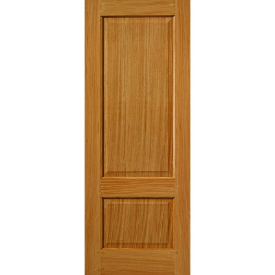 JB Kind Internal Oak TRENT Traditional Raised 2 Panel Fire Door FD30