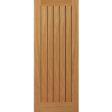 JB Kind Internal Oak Yoxall Flush Door