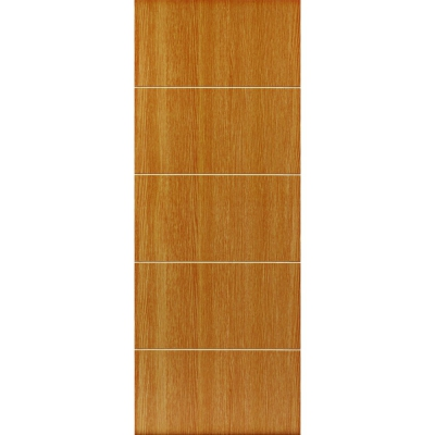 JB Kind Internal TATE Pre-Finished Painted Oak Effect Grooved Flush Fire Door FD30
