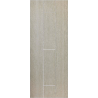 JB Kind Internal VIRIDIS Pre-Finished Natural Painted Grooved Flush Fire Door FD30