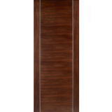 LPD Internal Walnut ALCARAZ Pre-Finished Flush Fire Door FD30