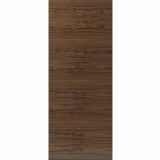 JB Kind Internal Walnut FERNOR Pre-Finished Horizontal Grain Flush Door