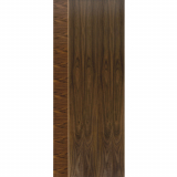 JB Kind Internal Walnut MAYETTE Pre-Finished Vertical Inlay Flush Door