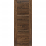 JB Kind Internal Walnut MISTRAL Pre-Finished Grooved Flush Fire Door FD30