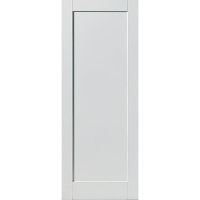 JB Kind Internal White Primed ANTIGUA Shaker 1 Panel Fire Door FD30