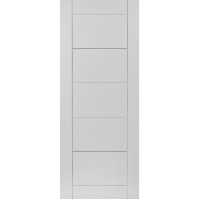 JB Kind Internal White Primed APOLLO Ladder Style Flush Door