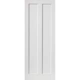 JB Kind Internal White Primed Barbados 2 Panel Door