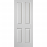 JB Kind Internal White Primed Grained Canterbury Panelled Fire Door