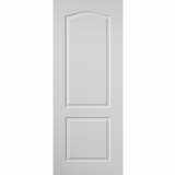 JB Kind Internal White Primed Grained Classique Panelled Fire Door