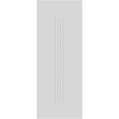 JB Kind Internal White Primed CRITERION Dotted Grooved Flush Fire Door FD30