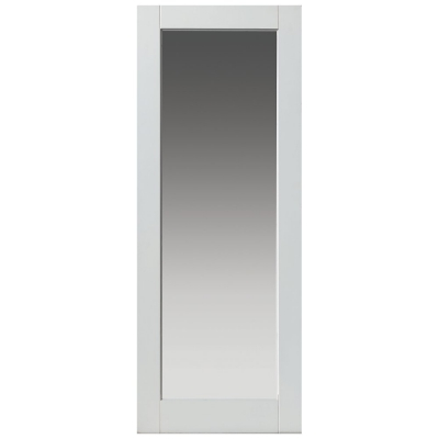 JB Kind Internal White Primed TOBAGO 1 Light Clear Glazed Door
