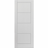JB Kind Internal White Primed QUATTRO Moulded Smooth Fire Door FD30