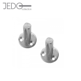 Jedo 2 x Taylor Door Spindles for Round Rose Lever Handles 8mm