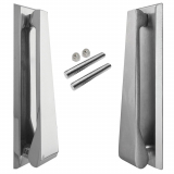 Jedo Contemporary Chrome Slimline Front Door Knocker