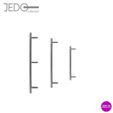 Jedo CRANKED GUARDSMAN Grade 304 Stainless Steel Large T Bar Door Pull Handle 31mm