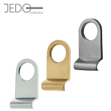 Jedo Front Door Cylinder Pull with Round Top