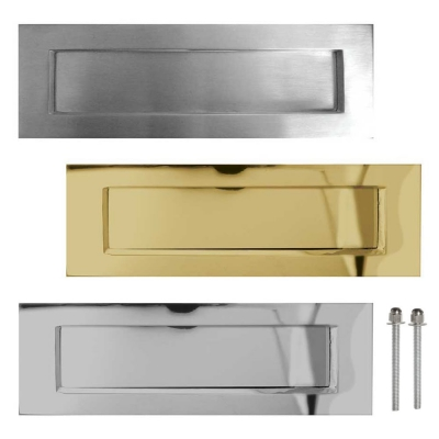 Frelan Hardware Letter Plates Letter Box Flaps Door Superstore