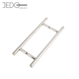 Jedo GUARDSMAN Grade 304 Stainless Steel T Bar Door Pull Handle 19mm (Back To Back)
