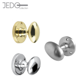 Jedo Oval Mortice Door Knob