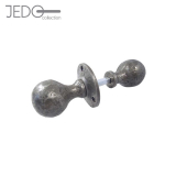 Jedo Pewter Antique Ball Shape Rim Knob