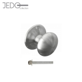 Jedo Decorative Grade 304 Satin Stainless Steel Centre Door Knob 70mm
